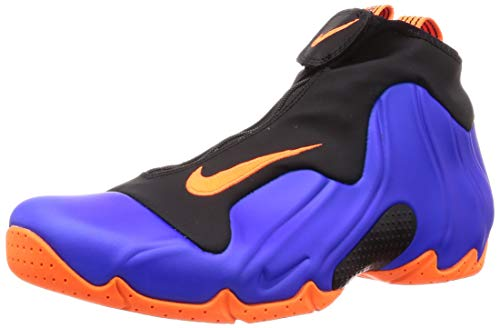 Nike Men's Air Flightposite, Racer Blue/Total Orange-Black, Size 11.5