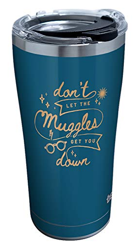 Tervis Harry Potter - Don't Let Muggles Get You Down Insulated Tumbler, 20oz, Stainless Steel