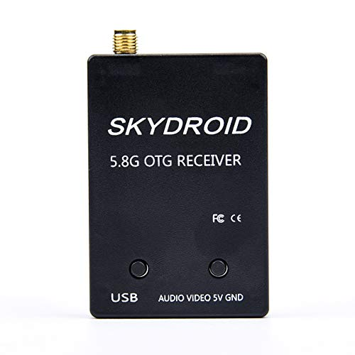 FPVKing 5.8G FPV OTG Receiver 150CH UVC Video Downlink Receiver for Android Mobile Phone Tablet Smartphone