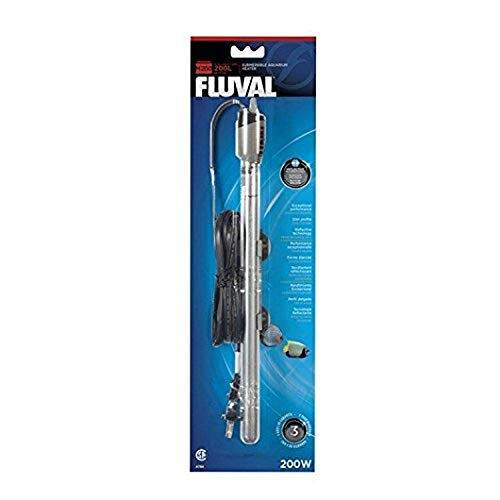 Fluval M200 Submersible Heater, 200-Watt Heater for Aquariums up to 65 Gal., A784