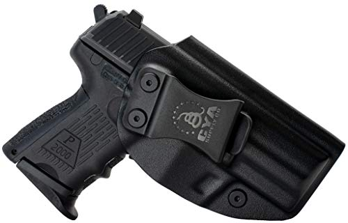 CYA Supply Co. Fits H&K P2000SK Inside Waistband Holster Concealed Carry IWB Veteran Owned Company (Black, 023- H&K P2000SK)