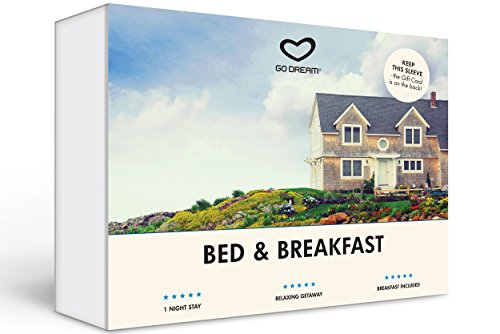 Bed and Breakfast Experience Gift Card NYC - GO DREAM - Sent in a Gift Package