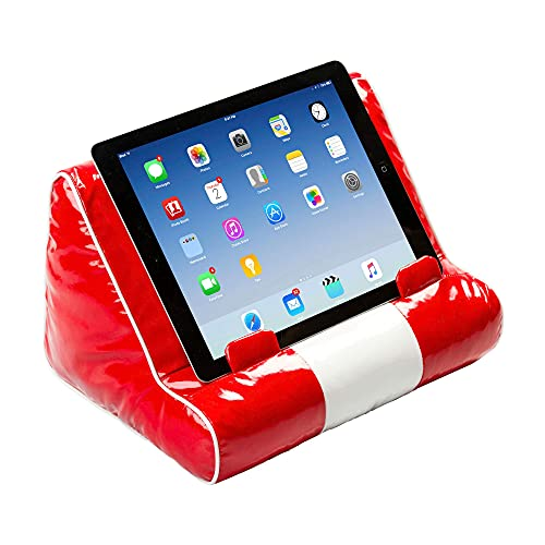 Book Couch Book Stand Cushion Support iPad Tablet eReader Kindle Smartphone Soft Lap Pillow Holder Reading Home Bed Rest Travel Gift Idea Comfort & Stability - Diner