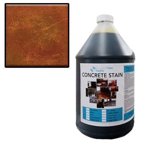 Concrete Acid Stain   English Red 1 Gallon