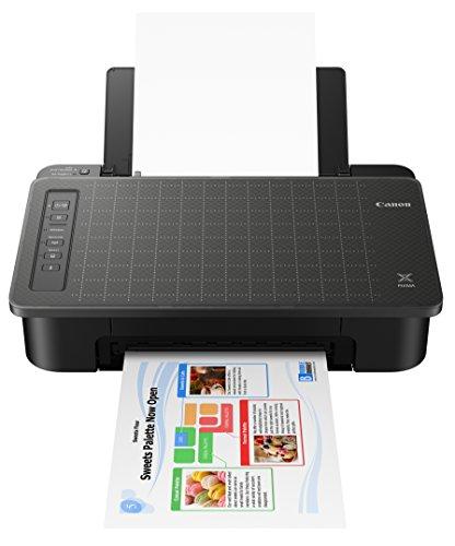 Canon TS302 Wireless Inkjet Printer, Black, Works with Alexa