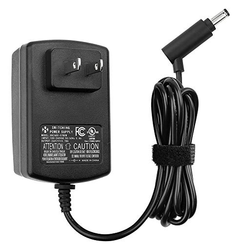 Charger for Dyson Cordless Vacuum, V6 V7 V8 DC58 DC59 DC61 DC62 SV03 SV04 SV05 SV06 Absolute Animal Fluffy Motorhead Vacuum Power Supply, 26V 0.78A AC DC Adapter, UL Listed, 6FT Power Cord