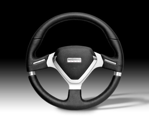 Momo Steering Wheel - Millenium EVO Black Leather