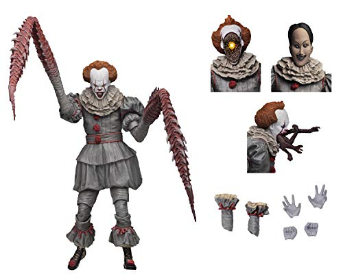 "NECA - IT - 7"" Scale Action Figure - Ultimate Pennywise The Dancing Clown (2017)"