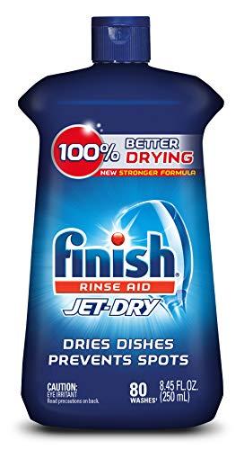 Finish Jet-Dry Rinse Aid, 8.45oz, Dishwasher Rinse Agent & Drying Agent