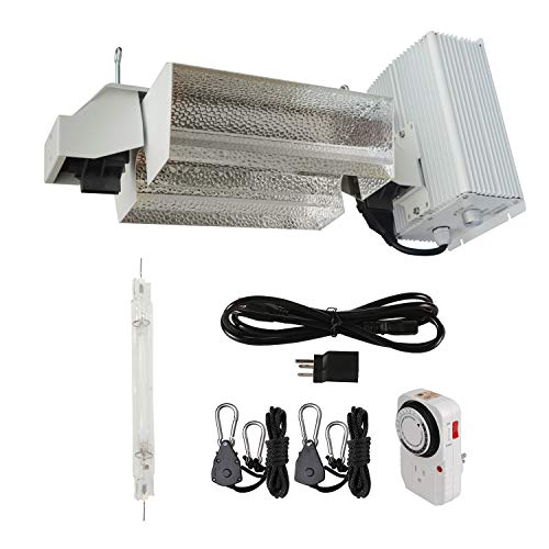 Hydro Crunch 1000-Watt Double Ended HPS Pro Series Open Style Complete Grow Light System 120-Volt/240-Volt with DE HPS Lamp