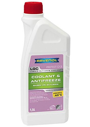 RAVENOL J4D2002-1 LGC C13 Coolant Antifreeze Premix (G13) (1.5 Liter)