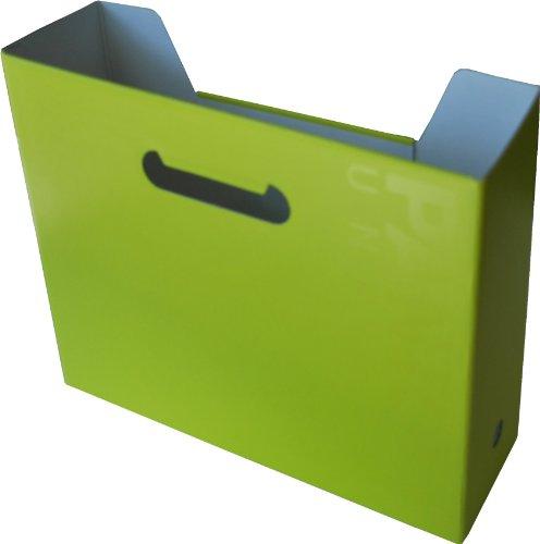 Pantone Horizontal File Box, A4 Wide, Sulphur Spring, Pack of 2 (50234-89260-3)