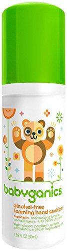 Babyganics Alcohol Free Foaming Hand Sanitizer - Mandarin - 1.69 oz