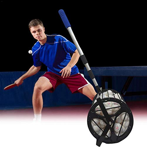 125 Ball Collector Max, Ball Picker Upper for Tennis, Pickleball or Padel, Holds 125 Tennis Balls or Pickleball Balls