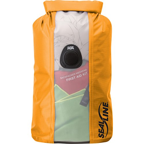 SealLine View Bulkhead Dry Bag, Orange, 10L