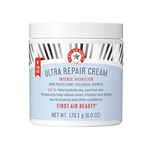 First Aid Beauty Ultra Repair Cream Intense Hydration Moisturizer for Face and Body - 6 oz.