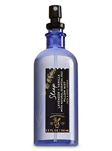 Bath and Body Works Aromatherapy Pillow Mist Lavender Vanilla (Retired Fragrance) 5.3 Fl Oz