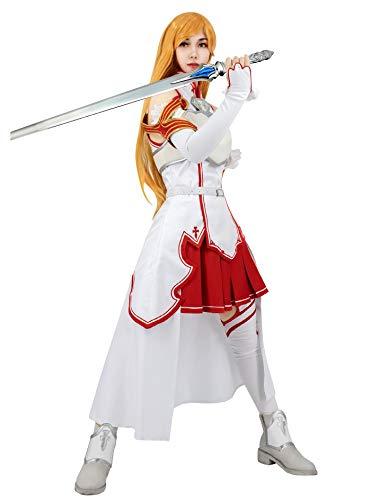 DAZCOS US Size Anime Sword Art Online Yuuki Cosplay Costume for Women (Large)