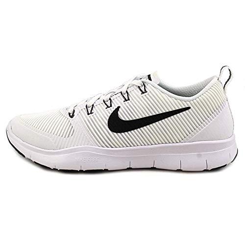 Nike Mens Free Train Versatility TB White/Black-Black Ankle-High Training Shoes - 11.5M