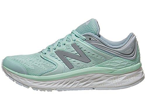 New Balance Women's Fresh Foam 1080 V8 Running Shoe, Light Green, 6.5 M US