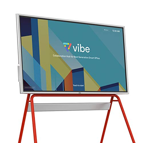 Vibe All-in-one Computer Real-time Interactive Whiteboard, Video Conference Collaboration, Robust App Ecosystem, Smart Board for Classroom and Business W/ 55' 4K UHD Touch Screen (No Stand Included)