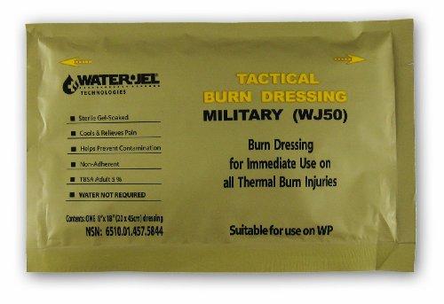 Water-Jel Military Burn Dressing 8' x18'