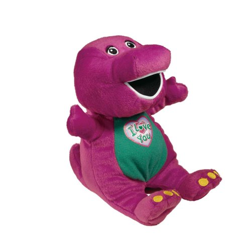 Barney The Dinosaur Singing 'I Love You' Plush (10')