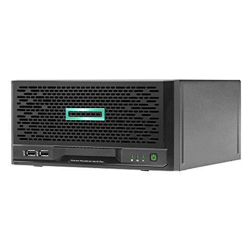 HPE ProLiant MicroServer G10 Plus Mini Tower Server for Business, Intel Xeon E-2224 3.4GHz, 32GB RAM, 8TB Storage, RAID