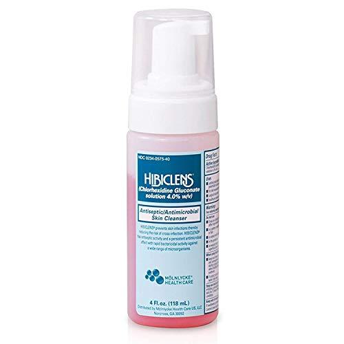 Hibiclens Antiseptic Antimicrobial Skin Cleanser 4oz Foam Pump