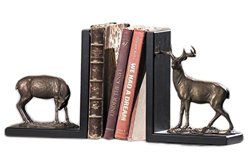 SPI Home 31729 Deer Pair Of Bookends