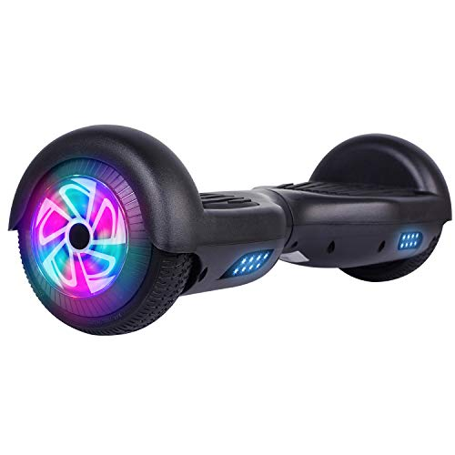 Felimoda Hoverboard for Kids and Adults, Self Balancing Hoverboard with UL2272 Certified (Black)