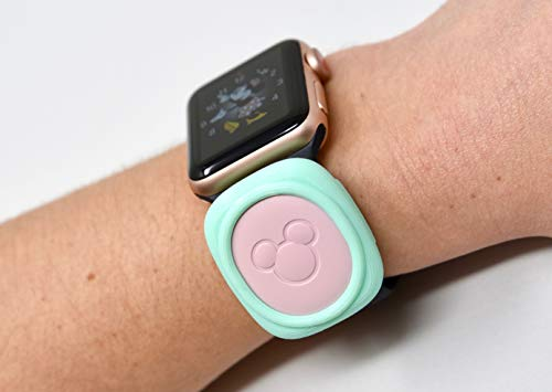 Luke3DP Watch Adapter Compatible with Disney Magic Band/Traditional Watch (Turquoise)