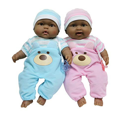 JC Toys Lots to Cuddle Babies Twin Dolls