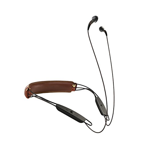 Klipsch X12 Bluetooth Neckband Headphones (Brown Leather)