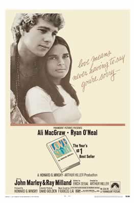 Love Story - Movie Poster (Size: 27 inches x 40 inches)