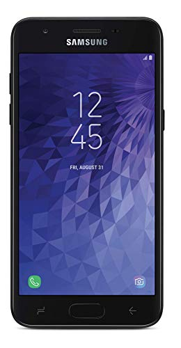 Total Wireless Carrier-Locked Samsung Galaxy J3 Orbit 4G LTE Prepaid Smartphone - Black - 16GB - Sim Card Included - CDMA