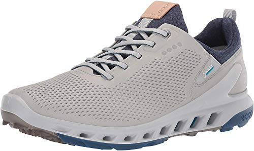 ECCO Men's Biom Cool Pro Gore-TEX Golf Shoe, Concrete yak leather, 44 M EU (10-10.5 US)