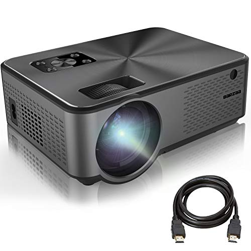 Projector, BARZAA Video Projector 4200Lux, Full HD Projector, LED Home Theater Projector Support 1080P 2HDMI 2USB VGA AV Headphone Jack, Compatible Laptop chromecast DVD PS4
