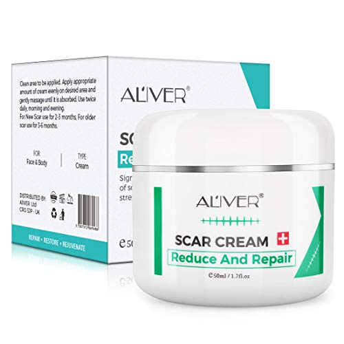 Scar Remover Cream, Reduce and Repair Skin, from C-Section, Acne, Surgery, Burns, Face Sacne, Effective for both Old and New Scars, Best Scar Removal Cream for Kids, Women, Men, 50Ml
