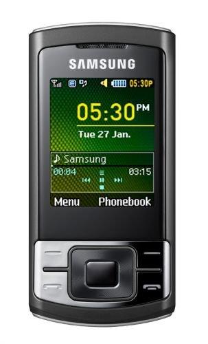 Samsung SA-C3050 Unlocked Phone with 15MB built-in memory, MP3 player, Bluetooth, FM radio - International Version (Black)