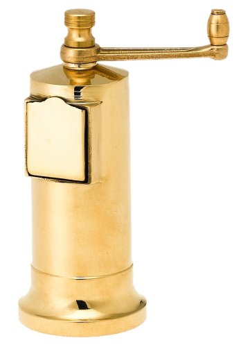 Pepper Mill Imports Chef's Mate Pepper Mill, Brass, 5'