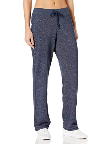 Hanes Women's French Terry Pant, Navy Heather, X-Large