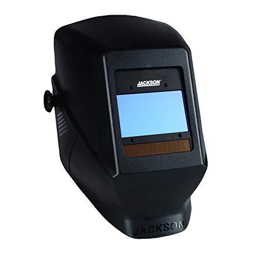 Jackson Safety Ultra-Lightweight Insight HSL-100 Welding Helmet with Digital Variable Auto Darkening Filter, Nylon, HSL-100, Black, Universal Size, 46129