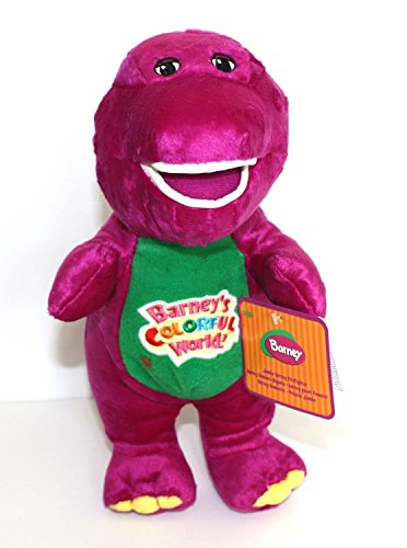 Best Pal Barney the Dinosaur 12' Plush Musical Singing Adorable Barney's Colorful World Doll
