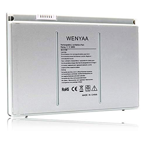 WENYAA 9-Cell Replacement Laptop Battery for MacBook Pro 17-inch Series A1189 A1151 A1212 A1261 A1229 MA458 MA458/A MA458G/A MA458J/A MA092 MA611 MB166B/A