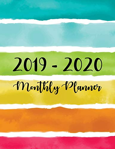 2019-2020 Monthly Planner: Two Year - Monthly Calendar Planner | 24 Months Jan 2019 to Dec 2020 For Academic Agenda Schedule Organizer Logbook and ... Monthly Calendar Planner 8.5 x 11) (Volume 1)