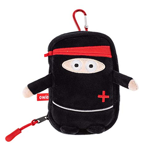 Owie Ninja Small Mini Compact First Aid Kit for Parents on The Go and Hanging in a Diaper Bag, Travel, Purse or Use it at Home or Outdoor