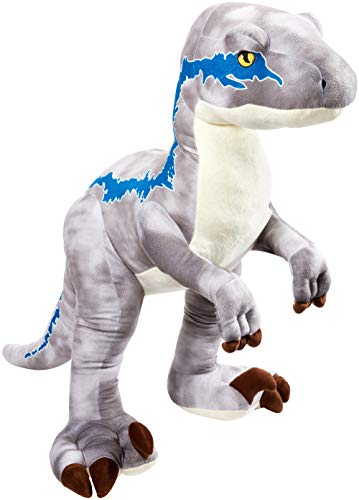 "Jurassic World Velociraptor ""Blue"" Plush"