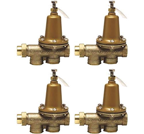 Watts 1 LF25AUB-Z3 Valve, 1' Pressure Reducing NPT Threaded Female Union Inlet x NPT Female Outlet - Lead Free