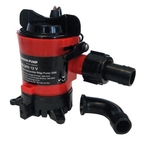 Johnson Pumps 32903 Cartridge Bilge Pump with Dura-Port - 1000 GPH